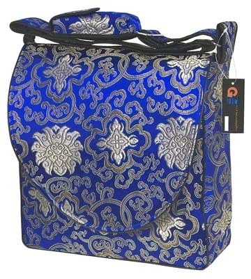 diamond blue diaper bag