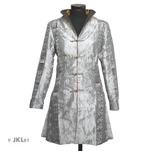 Silver Asian Jackets