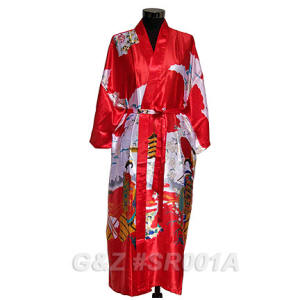 Red Geisha Robes