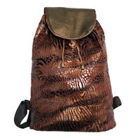 brown small backpacks