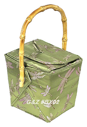 Green Dragonfly Take-Out-Box Handbag