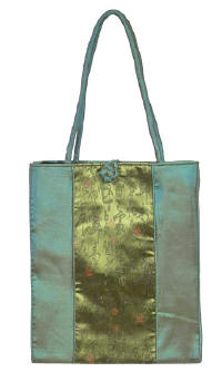 Green Chinese Calligraphy Totebag
