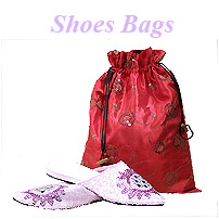 Satin Shoebags