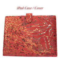 dark red iPad cases