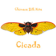 Chinese Cicada Kites - Yellow