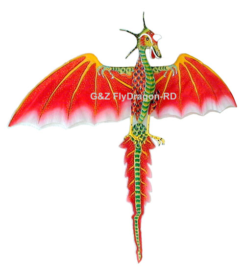 Red Flying Dragon Kite