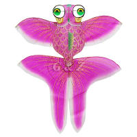 3D gold fish kite - pink